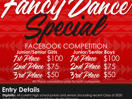 UAII Workforce Fancy Dance Quarantine Dance Special (Facebook Competition)