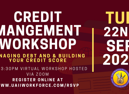 Credit Management Workshop | UAII Workforce Development