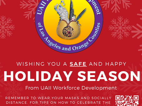 Happy Holidays from UAII Workforce Development!