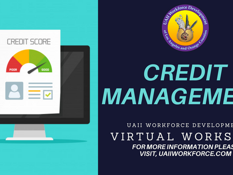 Credit Management Workshop June 23rd, 2020 @ 2pm