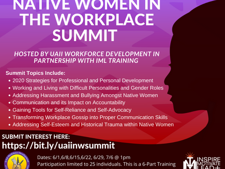 Native American Women in the Workplace Virtual Summit