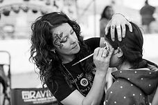 Denver Face Painter, Face Nectar Colorado, Emiko Martinez, artist, body painter