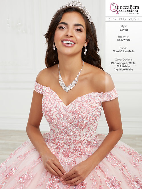 QUINCEANERA BY HOUSE OF WU 26970