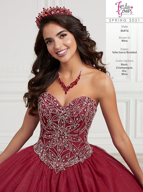 Fiesta Gowns Style 56416