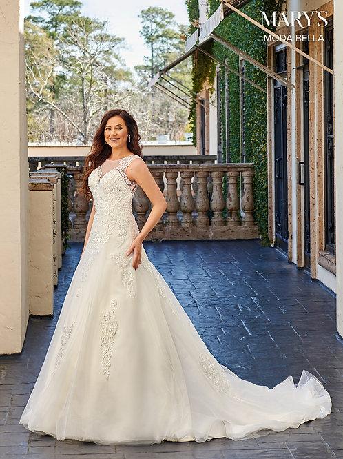 Marys Bridal MB2101 Cutout Back Wedding Dress