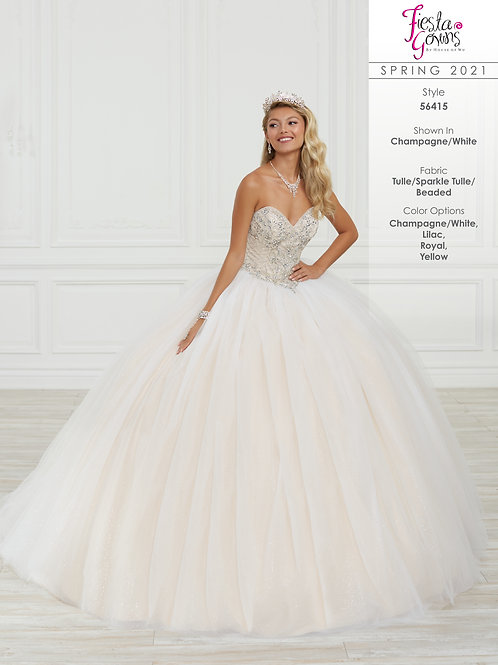 Fiesta Gowns Style 56415