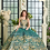 Thumbnail: D20-520BEADED 2-PIECE V-NECK QUINCEANERA DRESS BY RAGAZZA FASHION