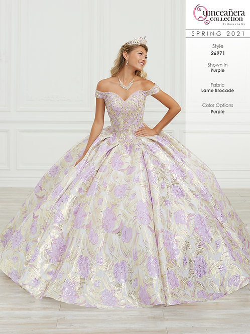 QUINCEANERA BY HOUSE OF WU 26971