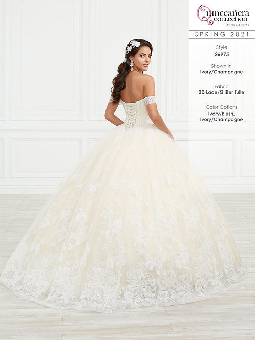 QUINCEANERA BY HOUSE OF WU 26975