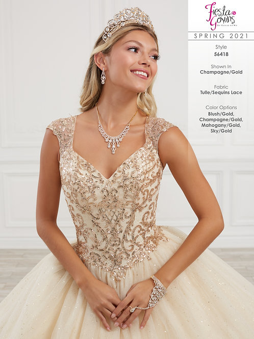 Fiesta Gowns Style 56418