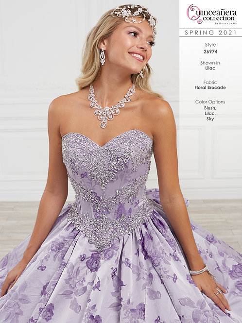 QUINCEANERA BY HOUSE OF WU 26974