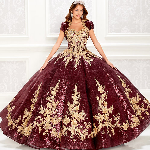 Princesa by Ariana Vara Stunning strapless quinceanera dress with sequin detail