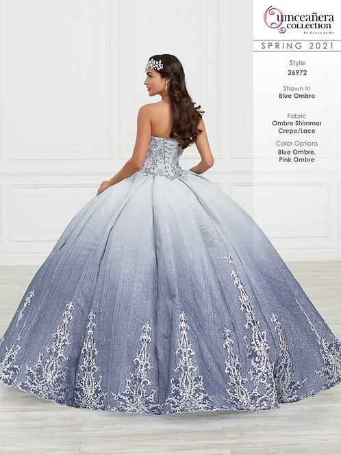 QUINCEANERA BY HOUSE OF WU 26972