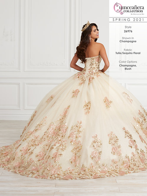 QUINCEANERA BY HOUSE OF WU 26976