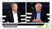 SICAT's CEO Jean-Bernard Lartigue at the Ecosysthème TV show