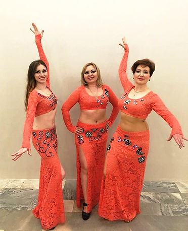 Танец живота в мини группе Москва