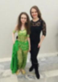 Индивидуальные уроки восточных танцев в Москве