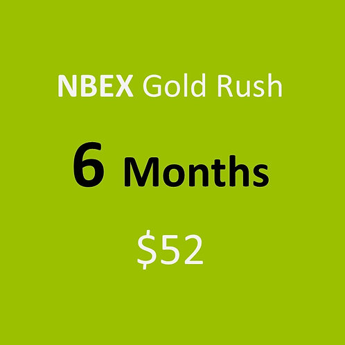 6 Months of NBEX Gold Rush