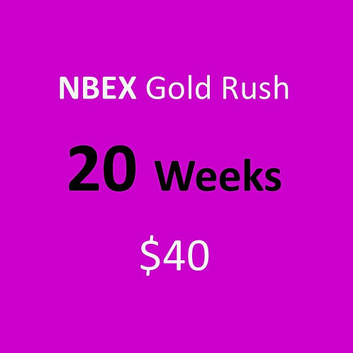 20 Weeks of NBEX Gold Rush