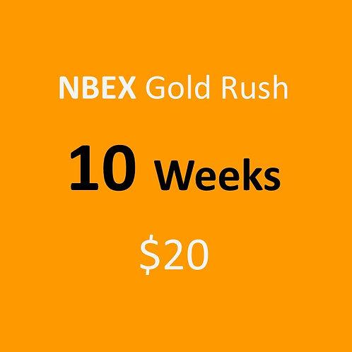 10 Weeks of NBEX Gold Rush