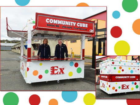 Book the Free NBEX Community Cube Event Booth