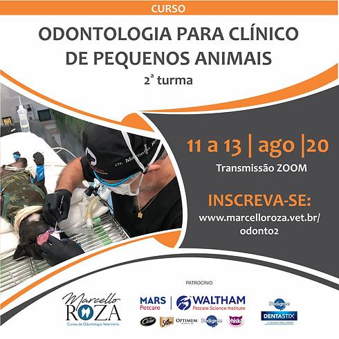 ODONTOLOGIA PARA CLÍNICOS DE PEQUENOS ANIMAIS - TURMA 2