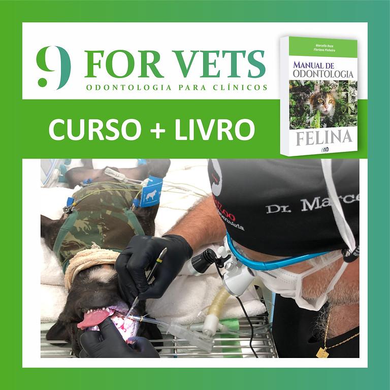 CURSO 9 FORVETS + LIVRO MANUAL DE ODONTOLOGIA FELINA