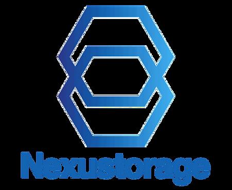 Nexustorage Logo Vertical Blue Transparent.png