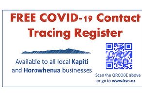 FREE COVID-19 CONTACT TRACING REGISTER