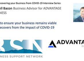 Russell Bacon explains planning Tools for Recovery -BSN Recovering your Business from COVID19 Series