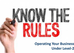 Updated Guidelines for all businesses operating under level-2