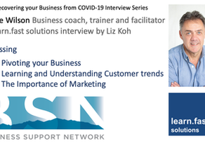 Laurie Wilson on Pivoting your Business - BSN Recovering your Business from COVID-19 Series