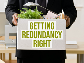 Getting Redundancy Right - Amy Webster