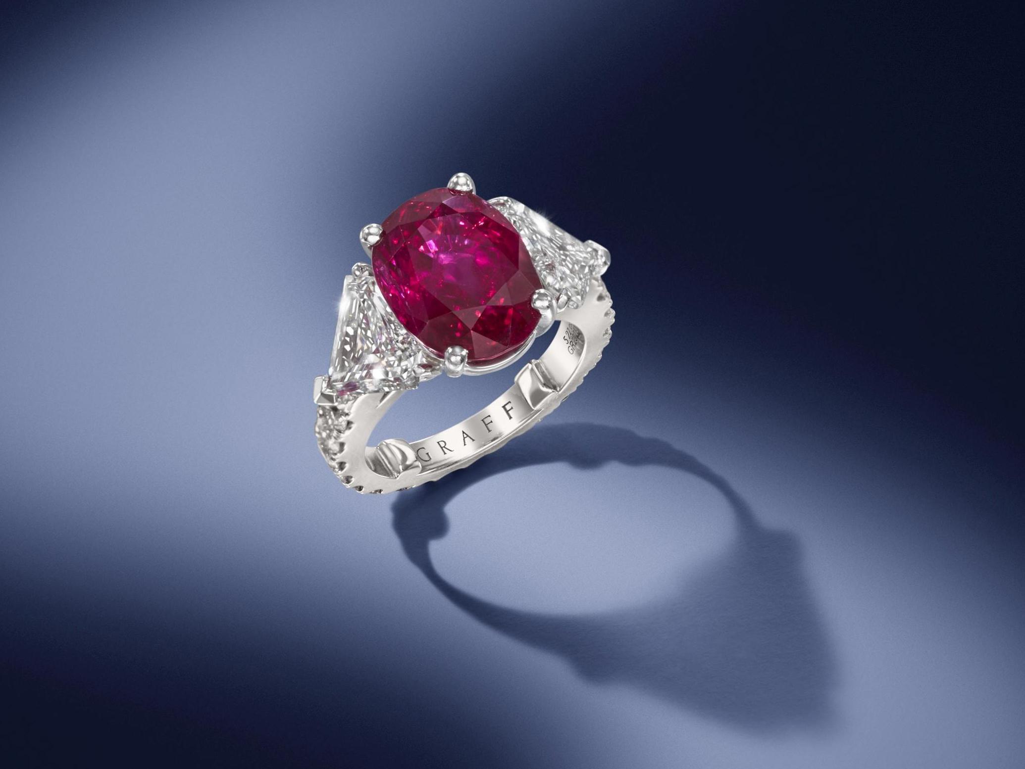 Ruby ring by Graff