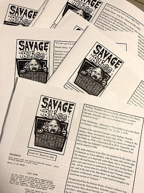 Savage Bliss issues 2,3,4
