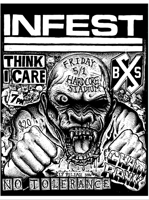 Infest Print
