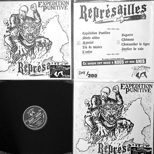 Represailles LP Expedition Punitive (split seam covers))