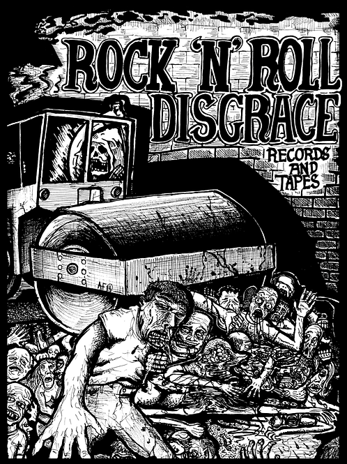 Rock and Roll Disgrace print