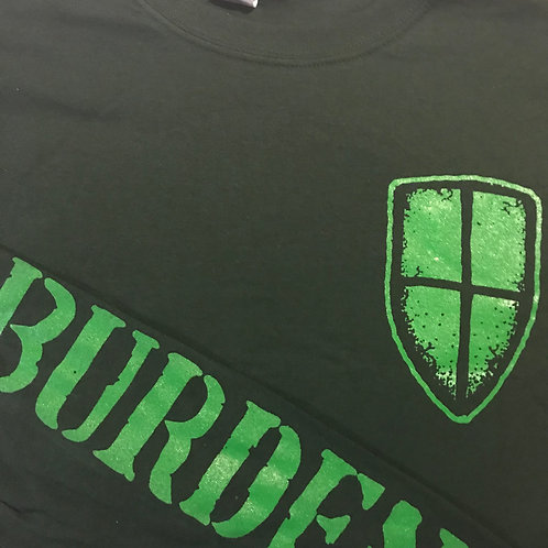 Green Long Sleeve Burden Shirt