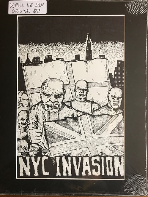 Skinfull NYC Invasion Original Matted