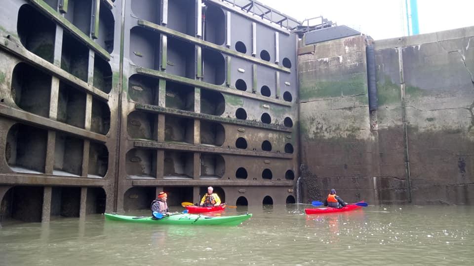 Garston dock gates