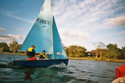 Hon Sec sailing!!!!!!!!!!!!!