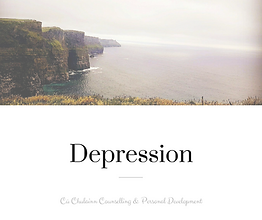 Call a psychotherapist today to speak about depression