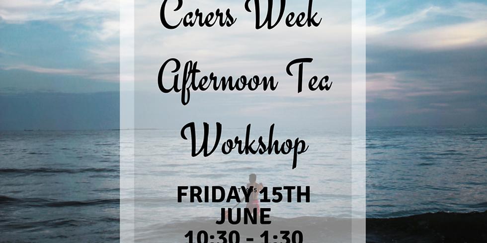 Carers Week Afternoon Tea Event