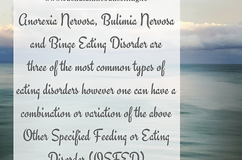what types of eating disorders are there, anorexia, bulimia, binge eating disorder, osfed