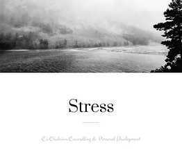 Speak to our qualified counsellor today to learn to manage stress