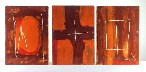 Sacrificial triptych