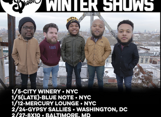 Butcher Brown's Winter Shows!