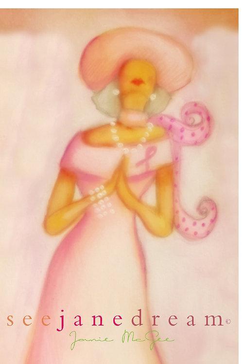 Pink Prayer Gray