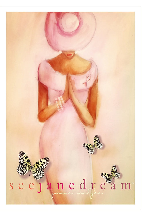 Pink Prayer Alone Thanks